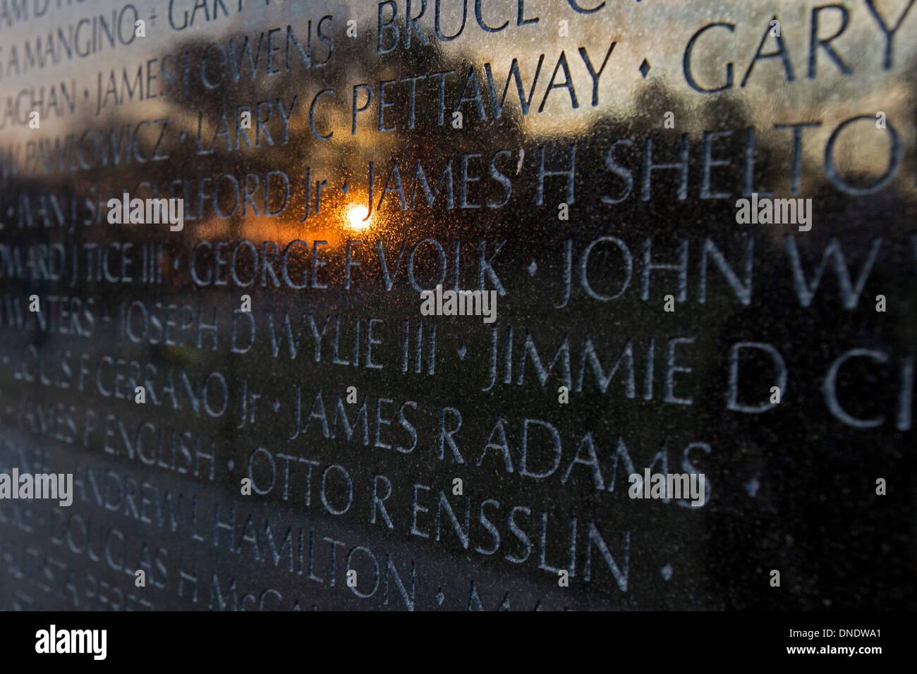 Vietnam Veterans Memorial - Stock Image