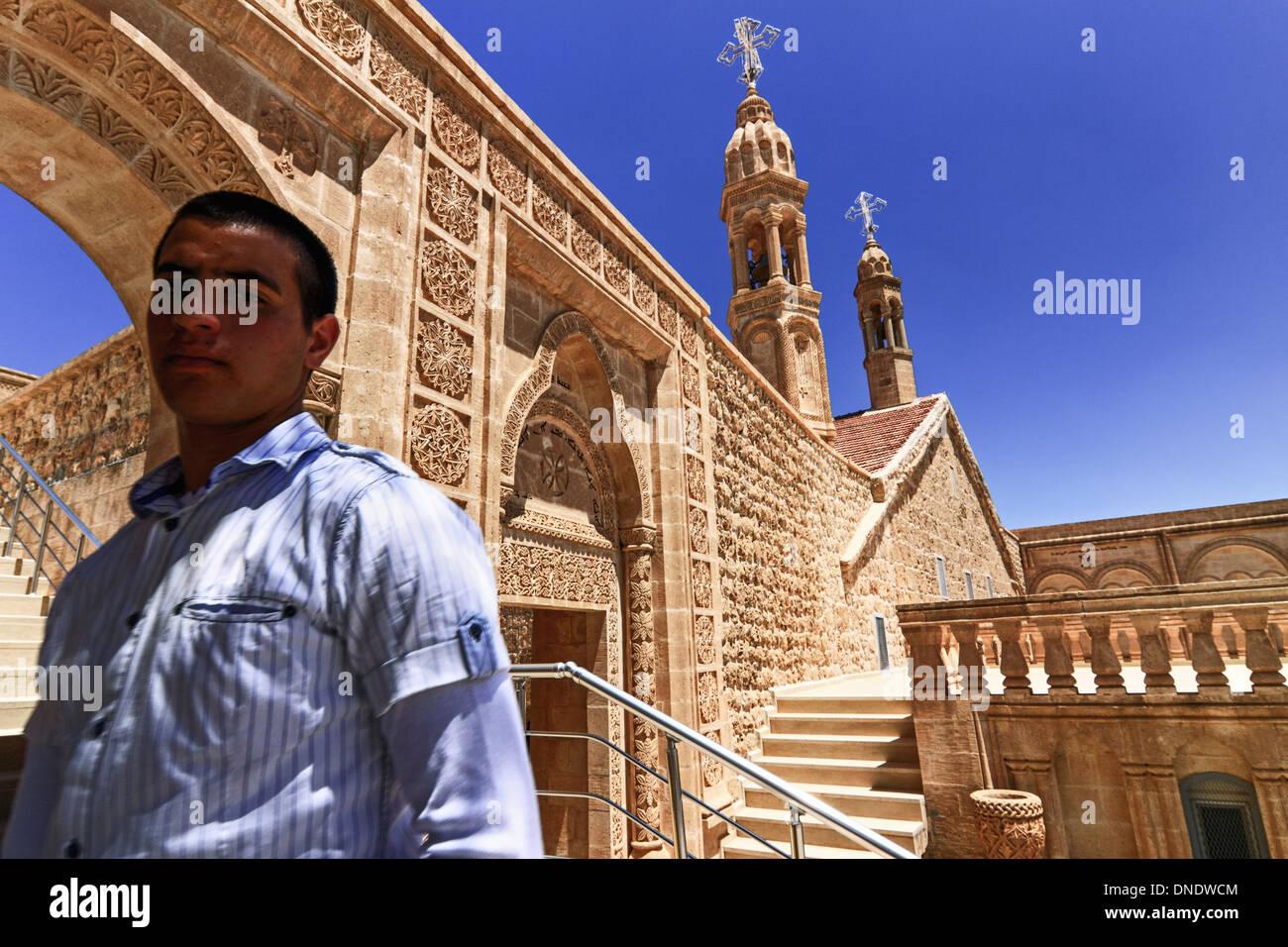 Mor Gabriel monastery - Stock Image