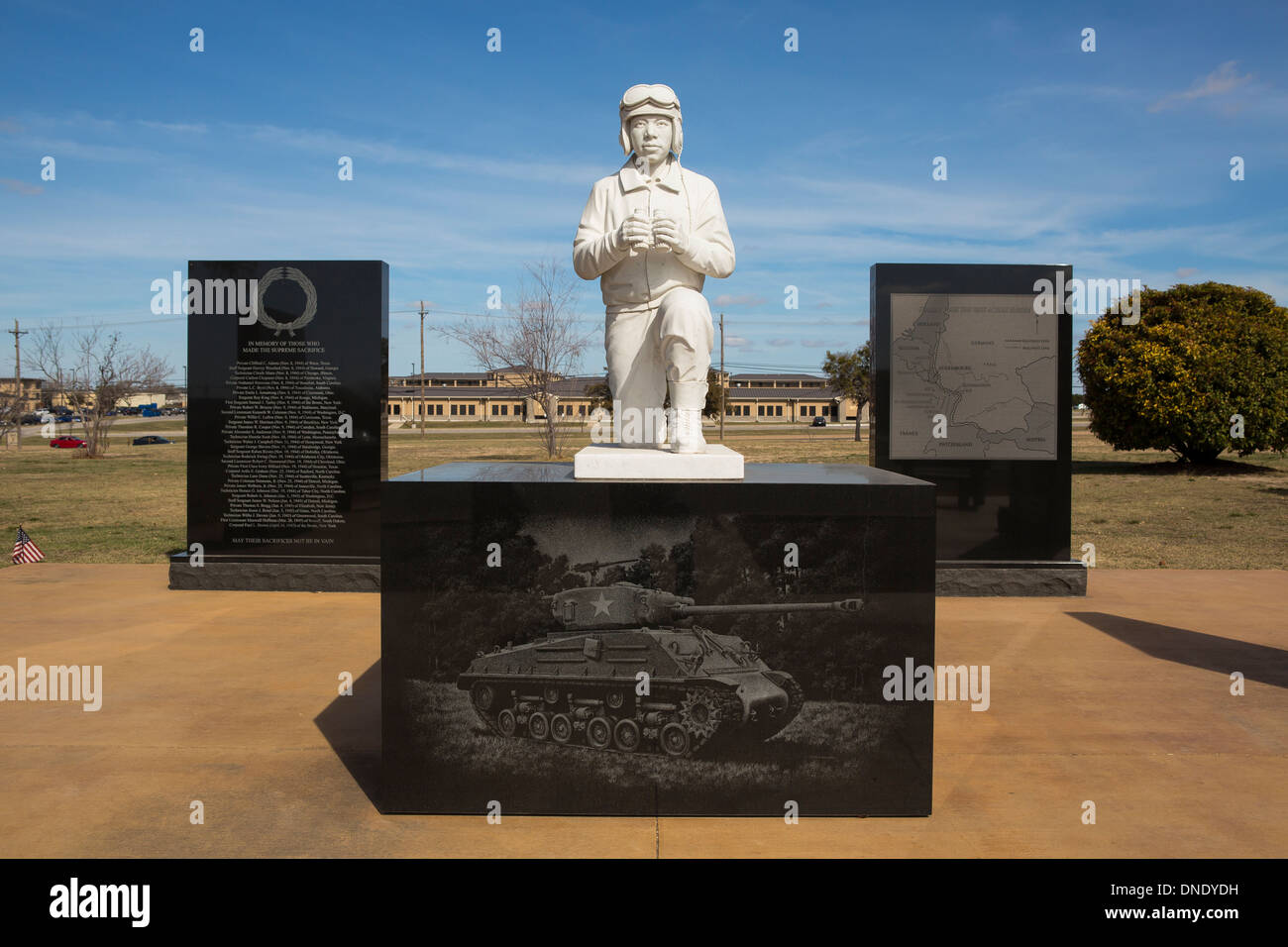 1st Cavalry Division Museum, Ft Hood, Texas - Stock Image
