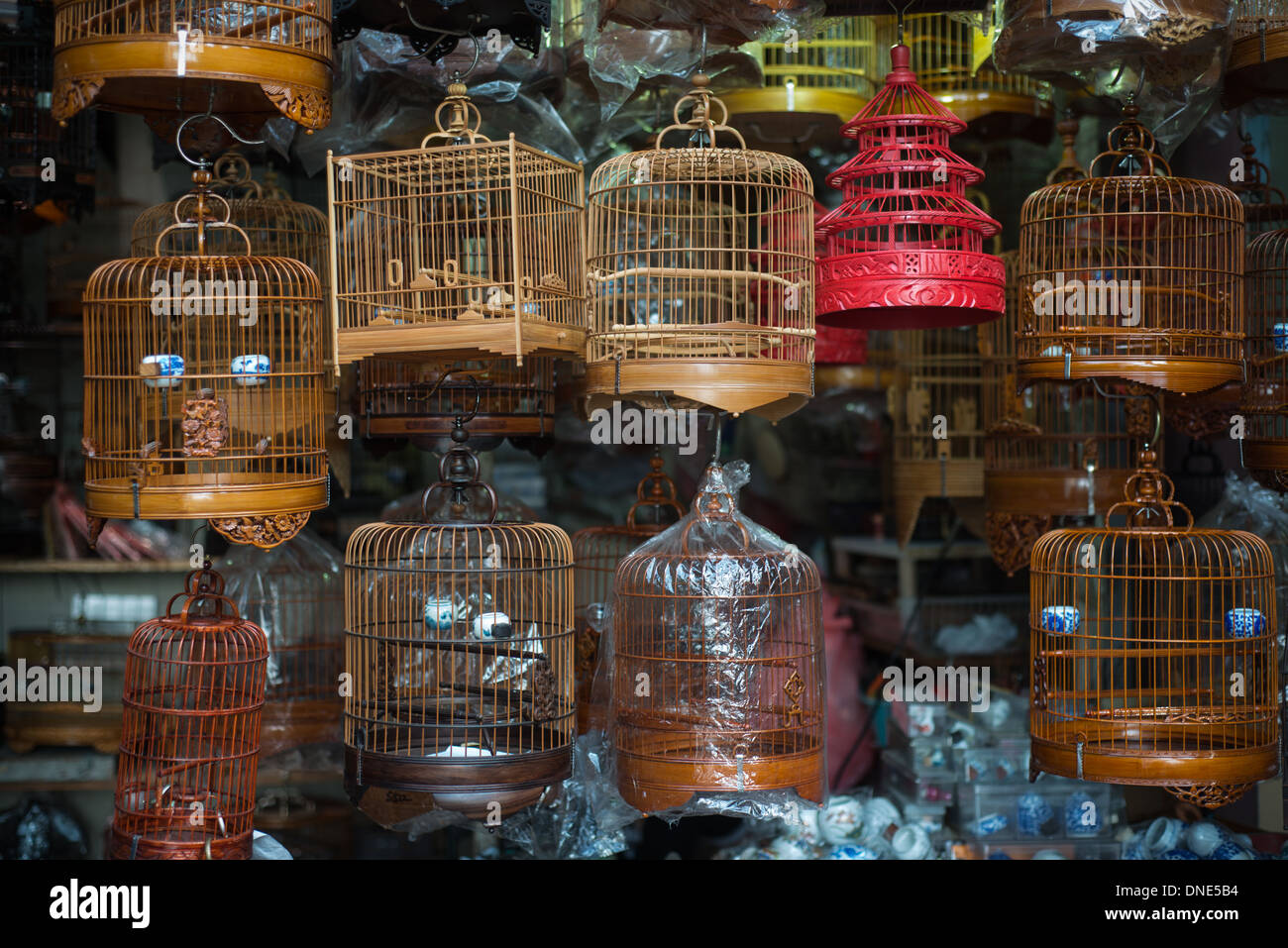 Birdcages - Stock Image