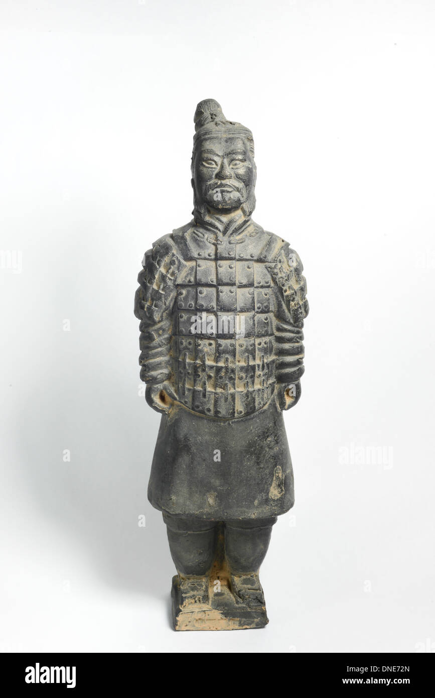 Terra Cotta Warriors by ancient china - Stock Image