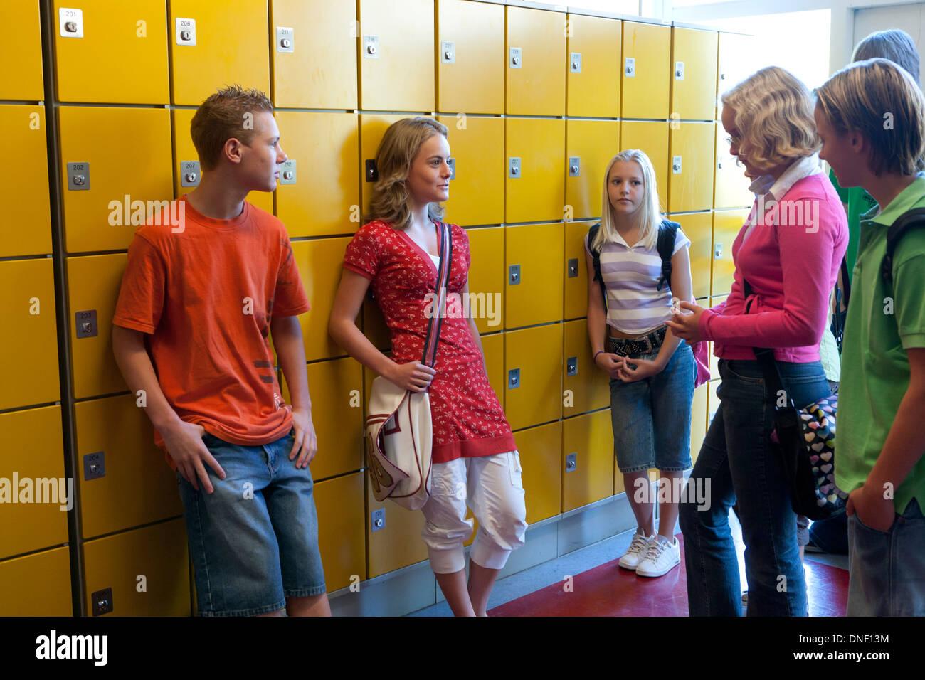 Are Girls group locker room