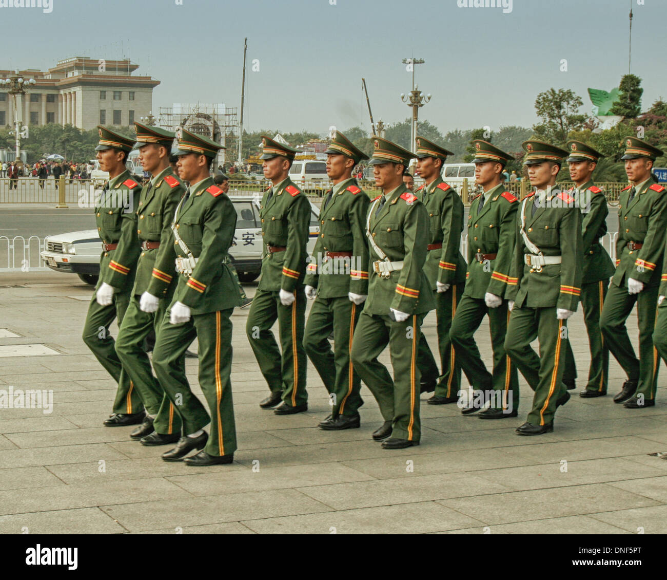 China Police: Peoples Armed Police Guard Stock Photos & Peoples Armed