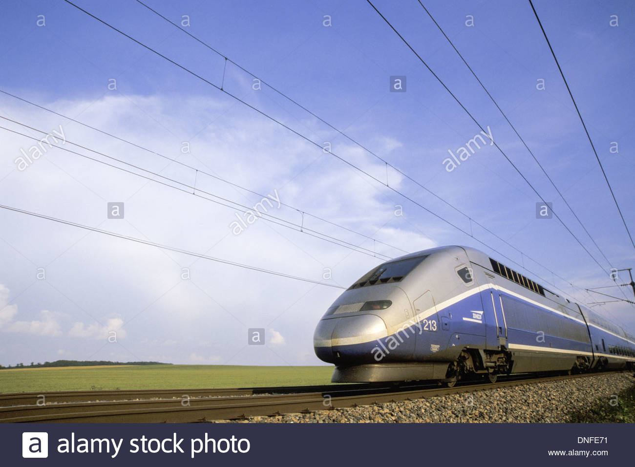 TGV Duplex Paris-Lyon Stock Photo: 64879333 - Alamy