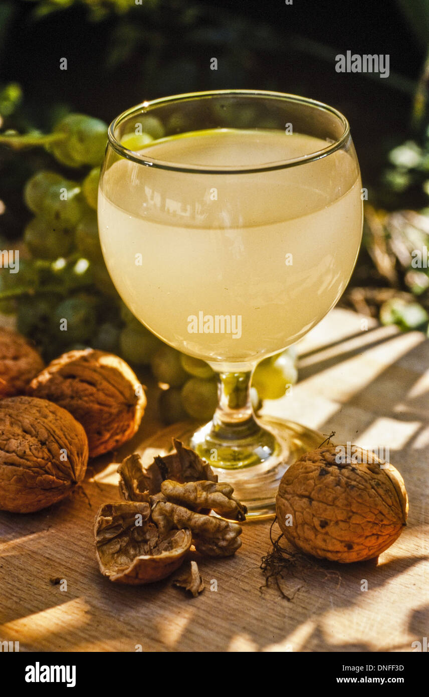 alcoholic beverage sturm - Stock Image