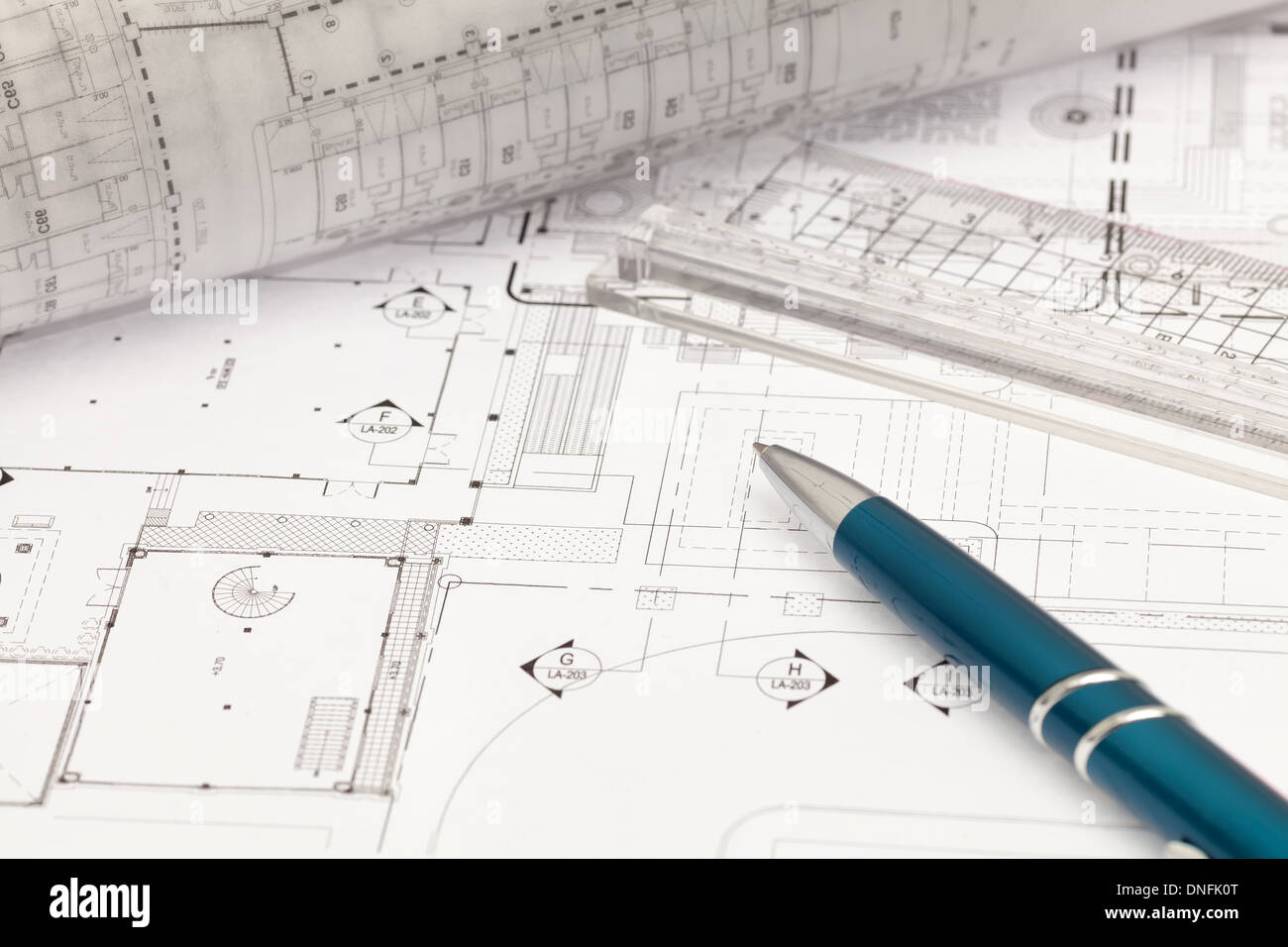 Architectural Drawing Stock Photos & Architectural Drawing
