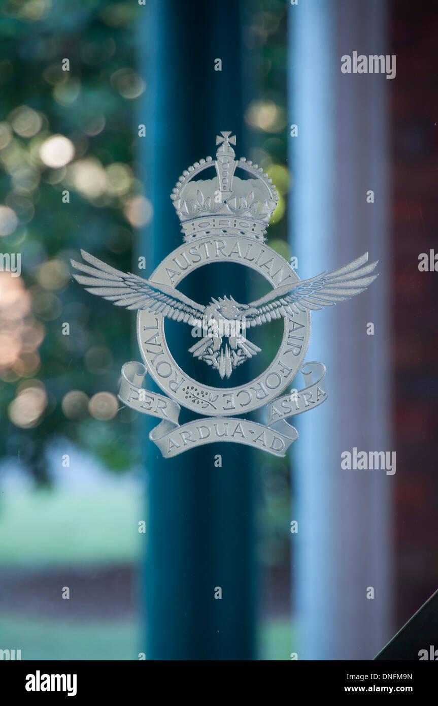 RAAF Crest - Stock Image