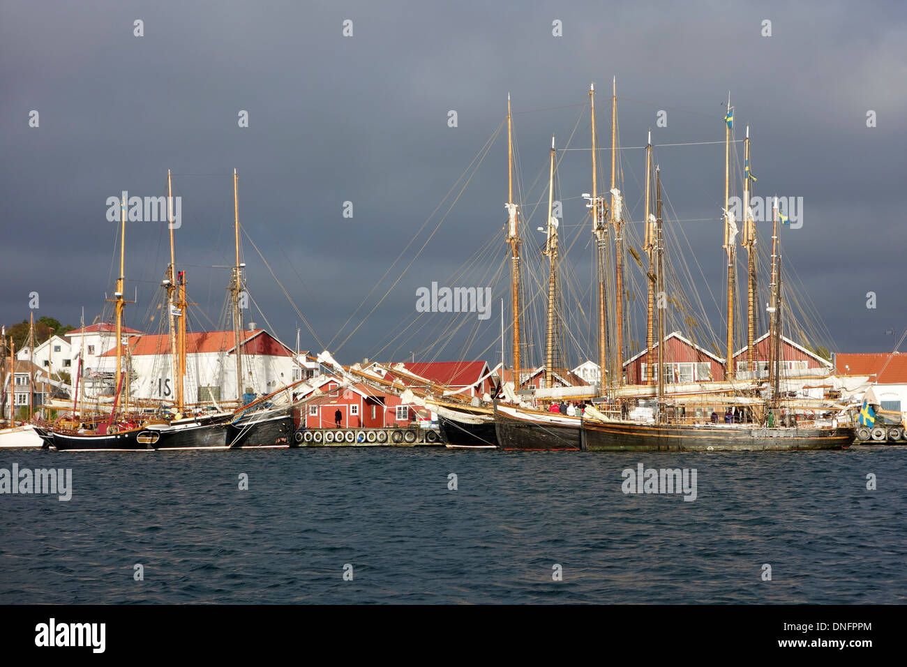 Old Wooden Sailboats In Archipelago Stock Photos Old Wooden