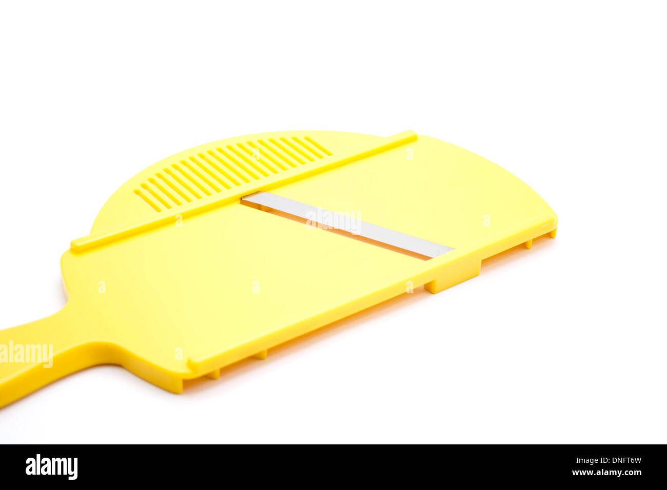 Yellow Kitchen Grater - Stock Image