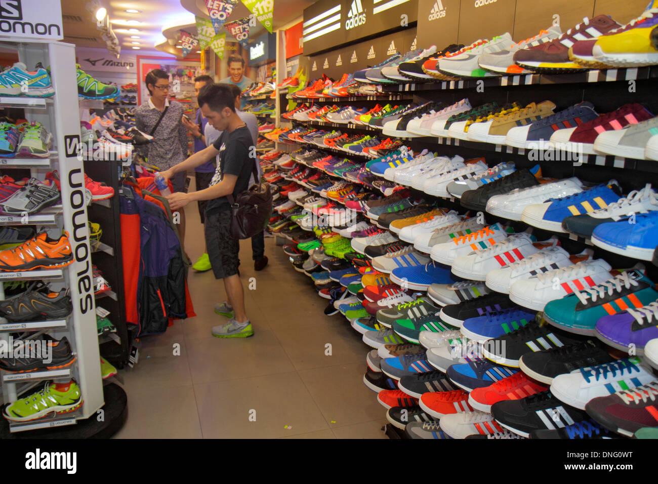 e34e74cc5b1801 Hong Kong China Kowloon Mong Kok Fa Yuen Street Sneaker Street shopping  fashion athletic shoe store
