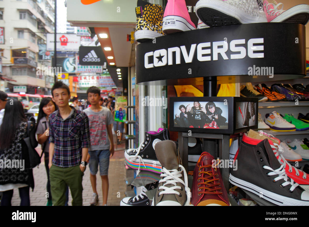 c439fd2d3cb3 Hong Kong China Kowloon Mong Kok Fa Yuen Street Sneaker Street shopping  fashion athletic shoe store