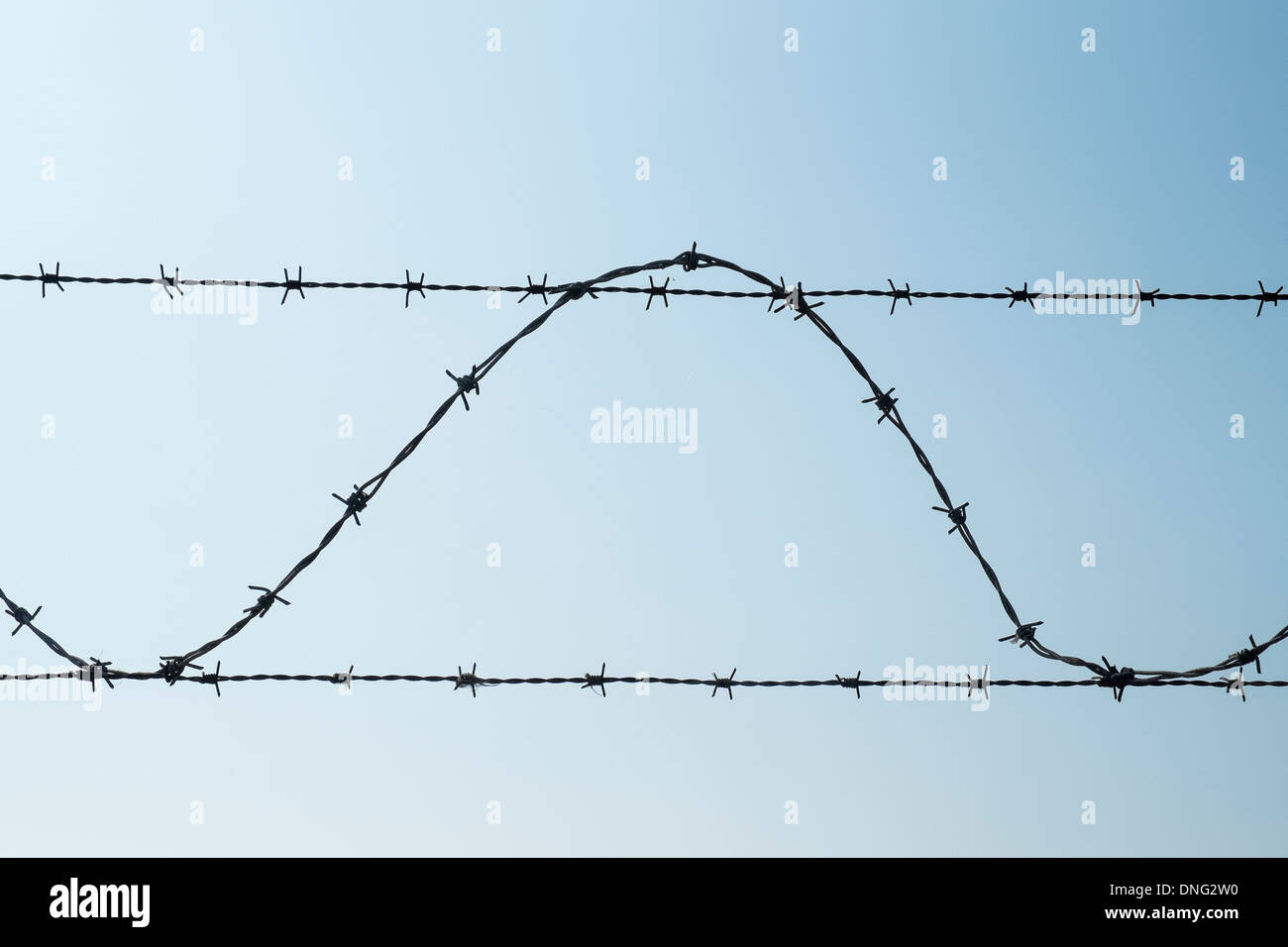 Barbed Wire Stock Photos & Barbed Wire Stock Images - Alamy