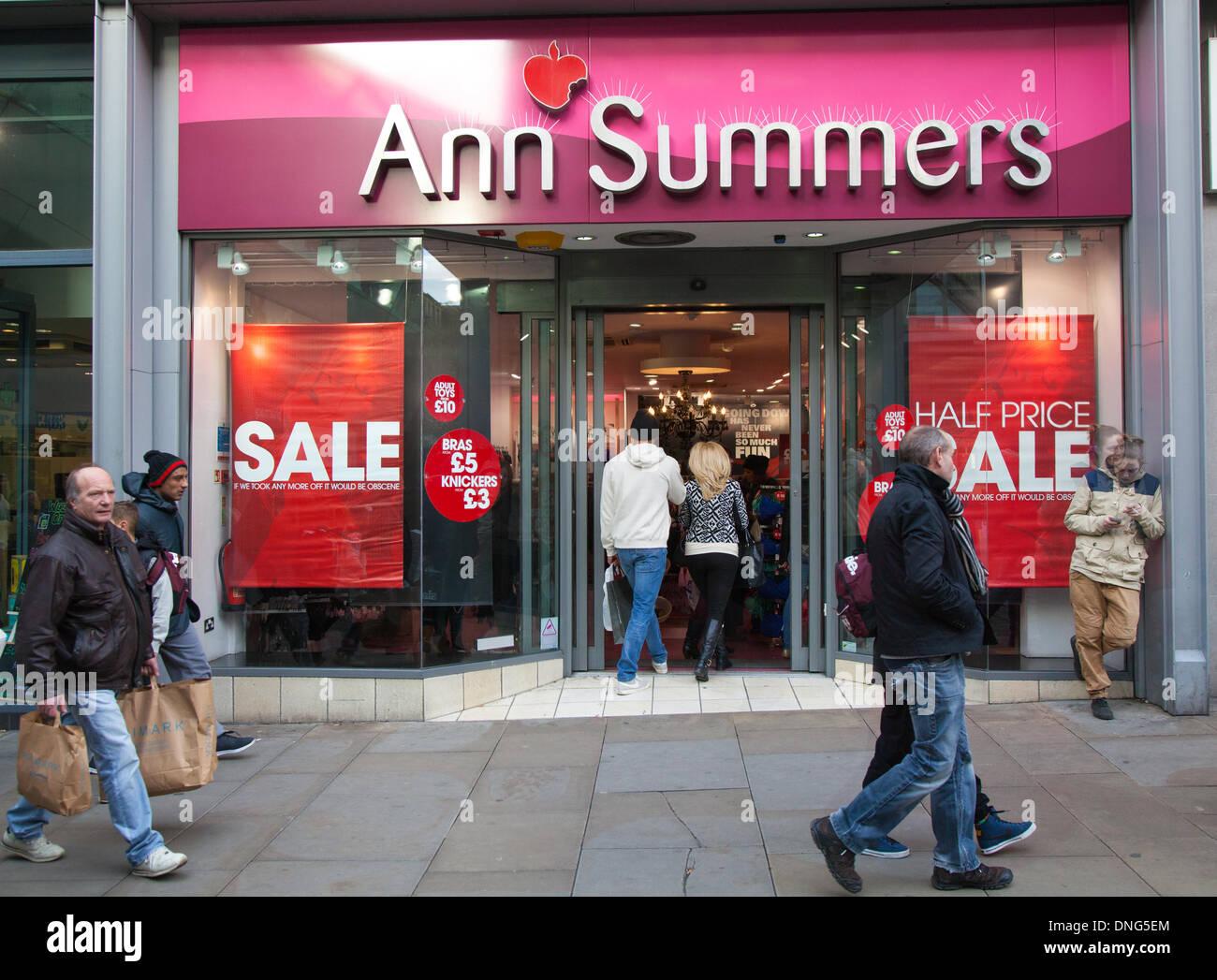 Ann summers manchester arndale