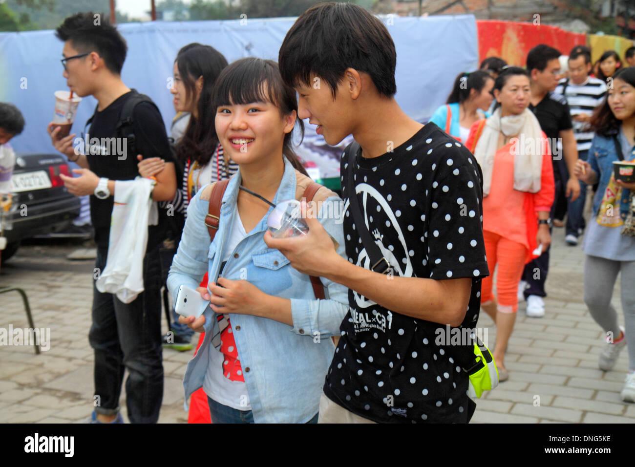 Chinese teen sucks big dick