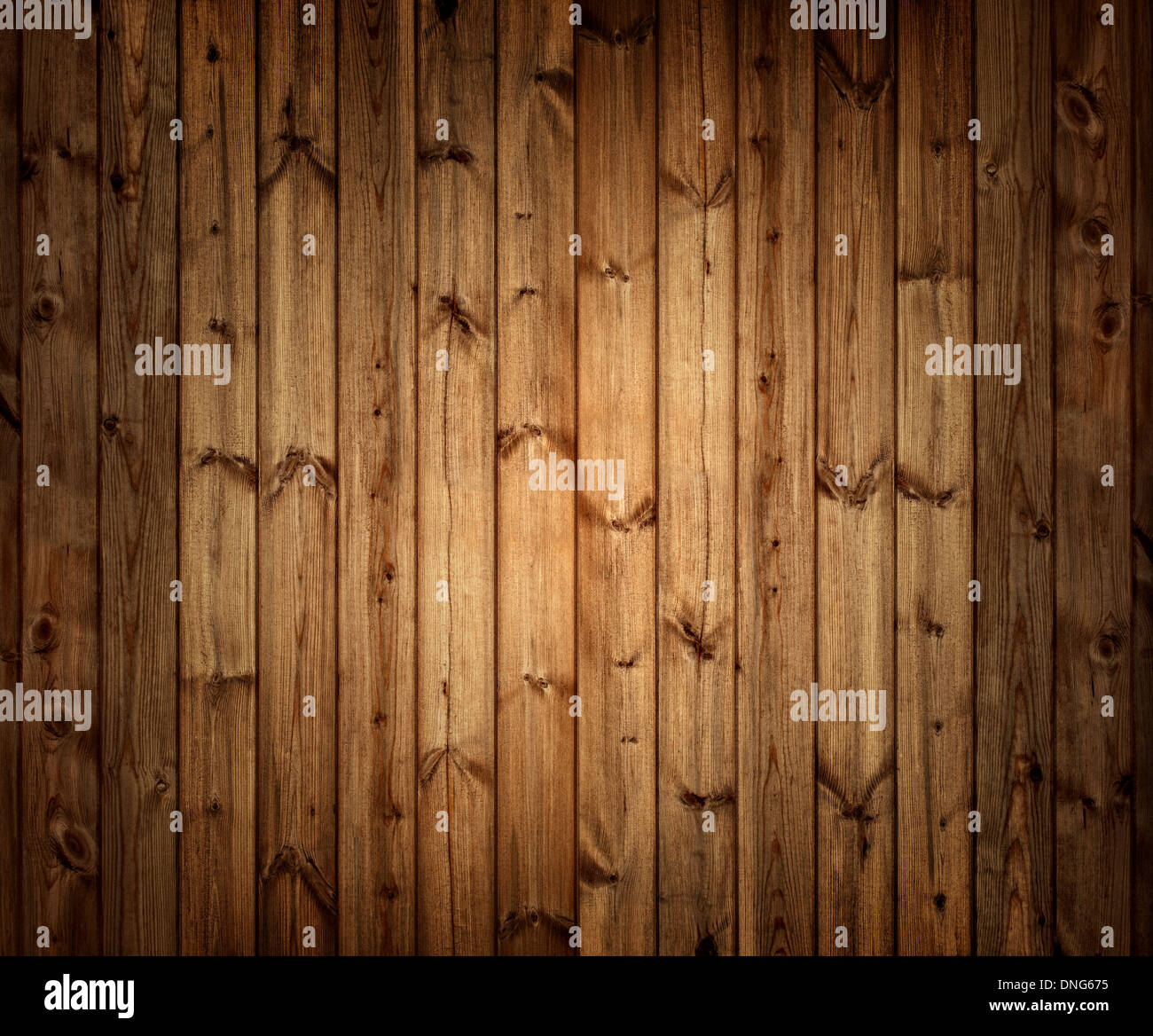 Old wood plank background - Stock Image