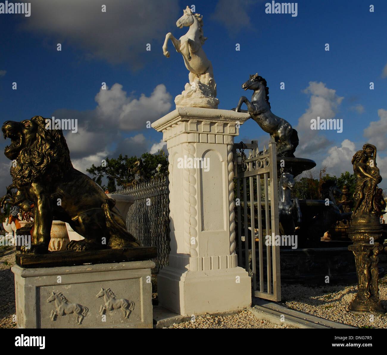 Statuary nursery - Stock Image