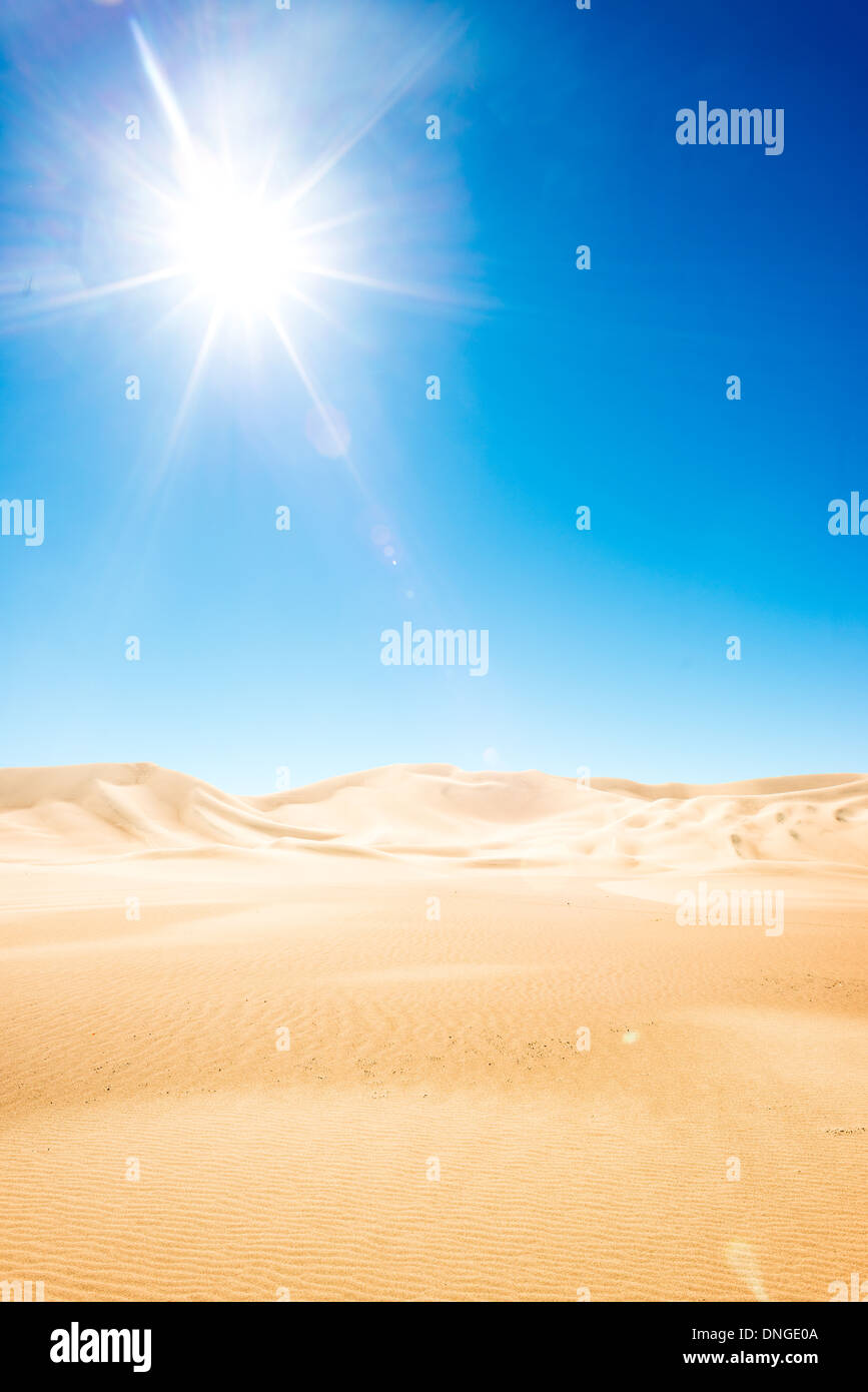 Dumont dunes in Death Valley National Park - Stock Image