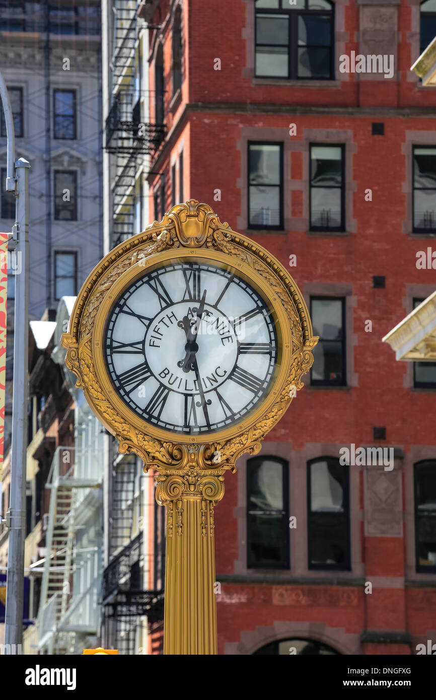 Clook, Amerika City NY New York - Stock Image
