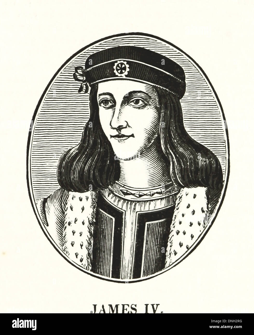 James IV (17 March 1473 – 9 September 1513) - King of Scots from 11 June  1488 to his death