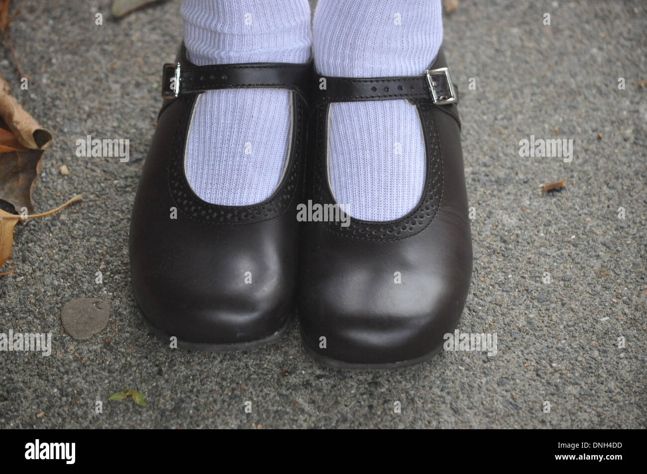 School Shoes High Resolution Stock