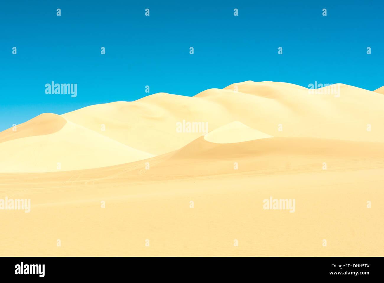 Dumont dunes in California - Stock Image