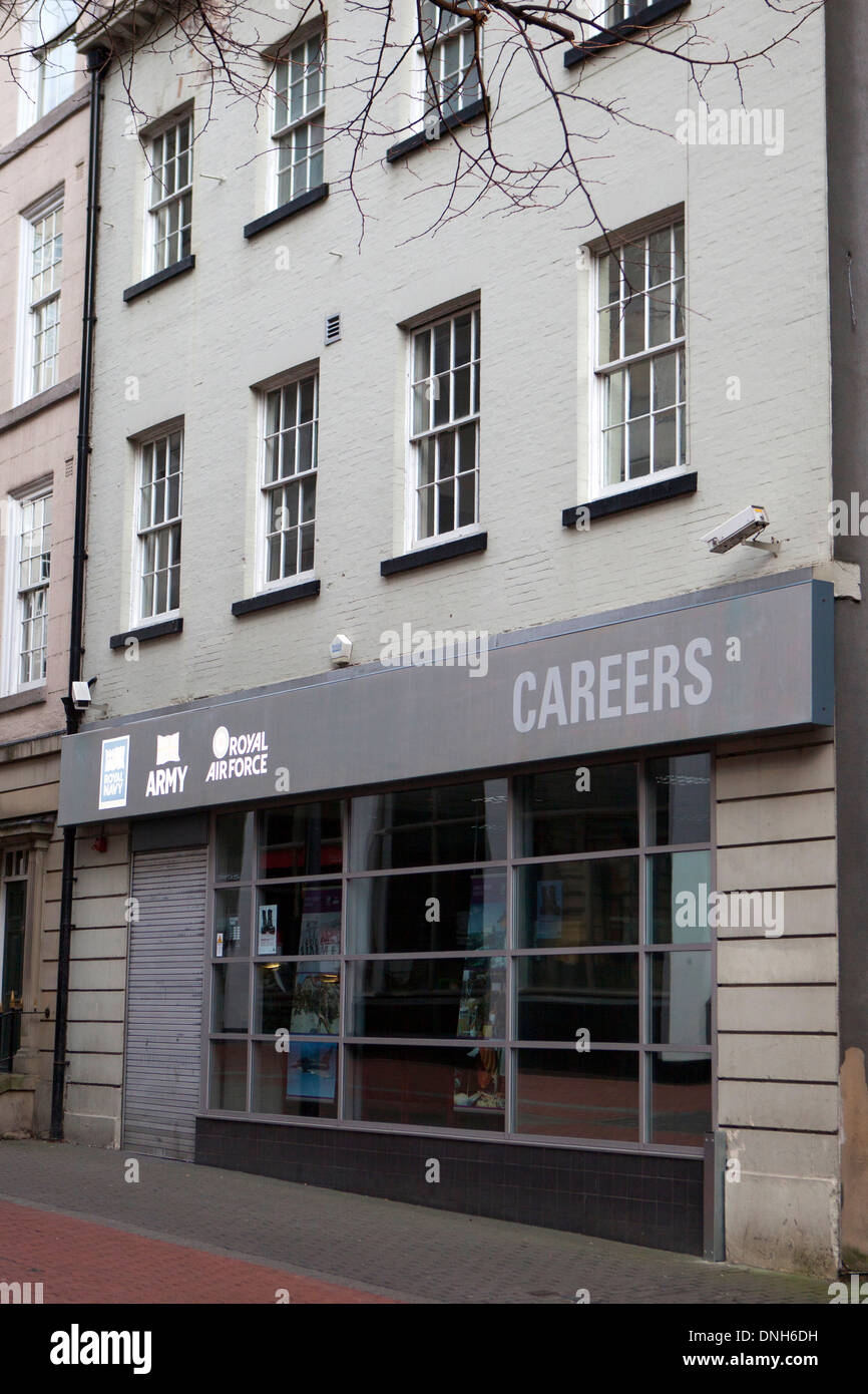 Army Careers shop in Leeds - Stock Image