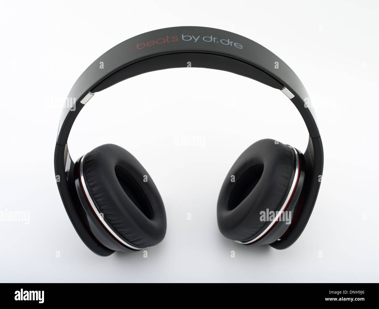 Beats by Dr. Dre studio headphones 2008 produced by Monster Cable. Iconic gadget / audio equipment. - Stock Image