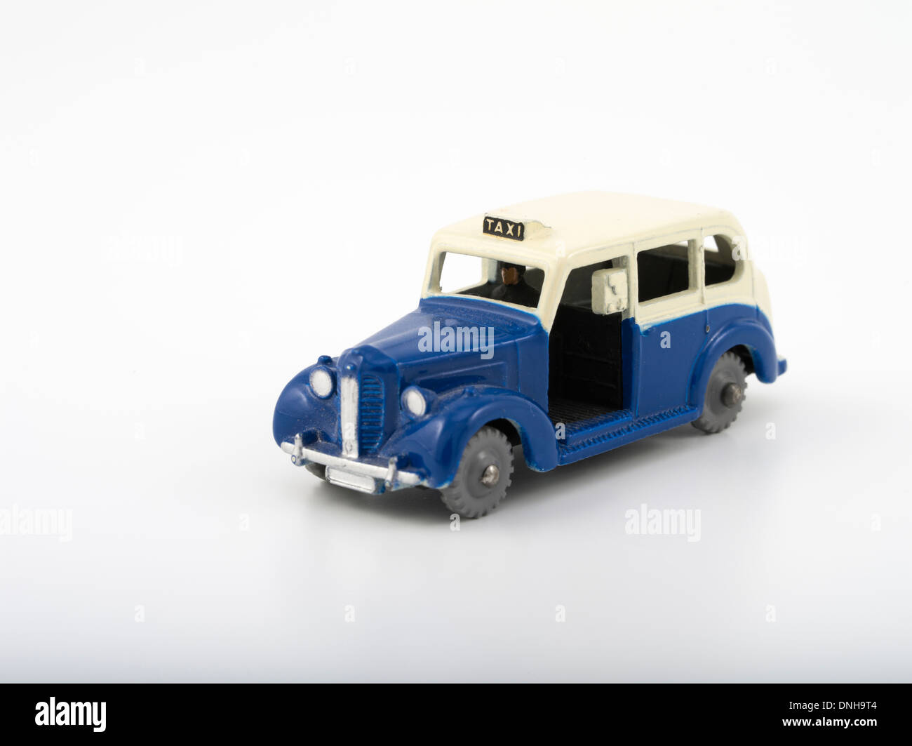 Duplo Dinky diecast Austin Taxi 1:78 OO scale 1960 - 1963 Stock Photo
