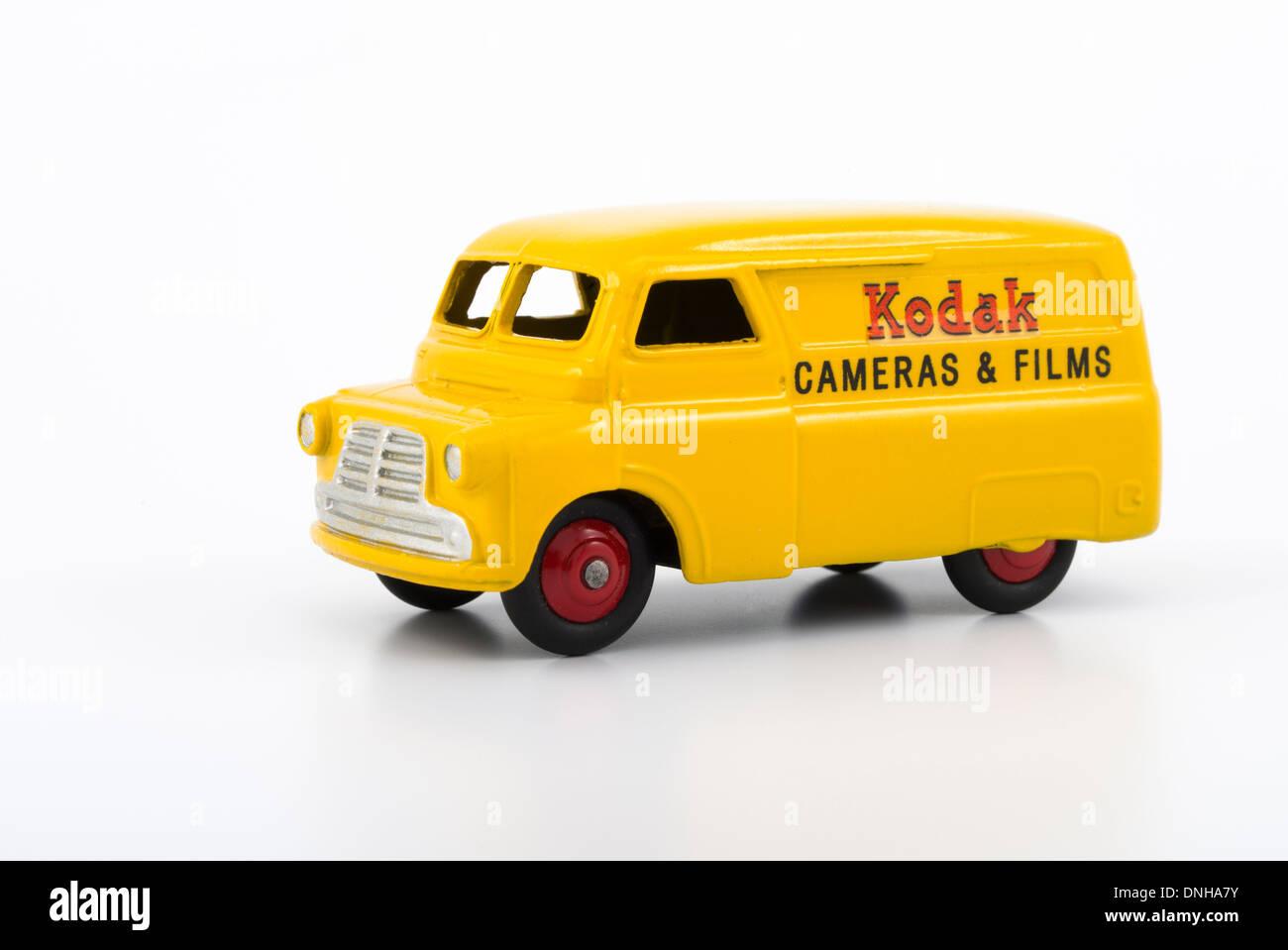 Meccano Dinky diecast Kodak Bedford Van No.480 1:78 OO scale ( 1954 ) - Stock Image