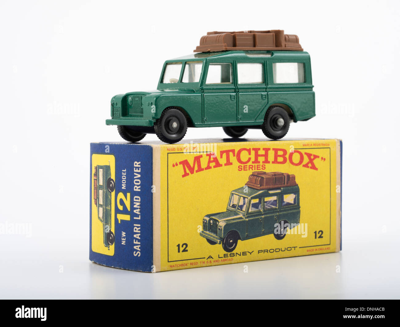 Matchbox Die Cast Toy Cars 12 Land Rover Safari Produced By