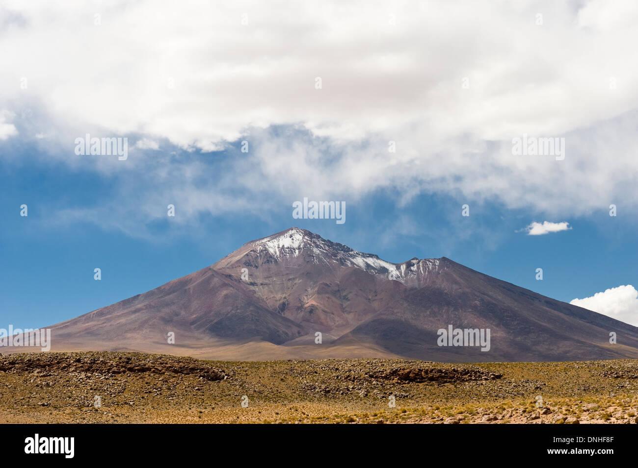 Bolivian altiplano landscape, Potosi, Bolivia - Stock Image