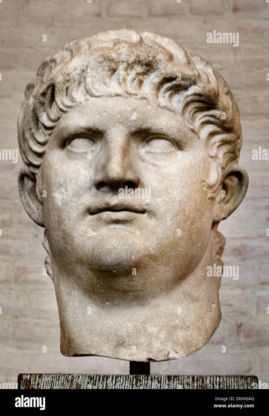 nero claudius caesar augustus germanicus biography