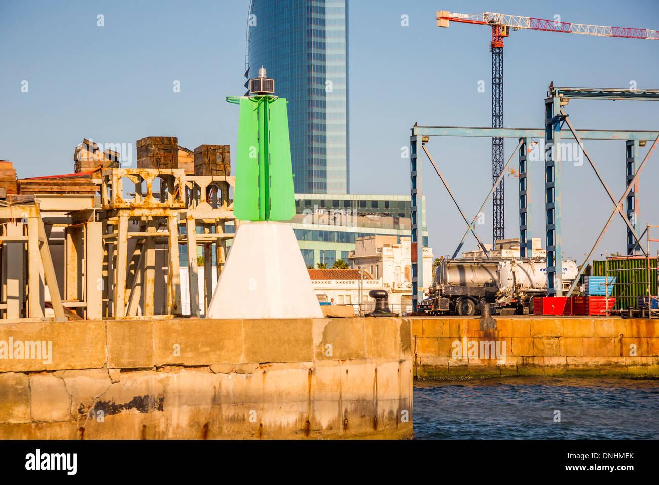 Harbor, Barcelona, Catalonia, Spain Stock Photo