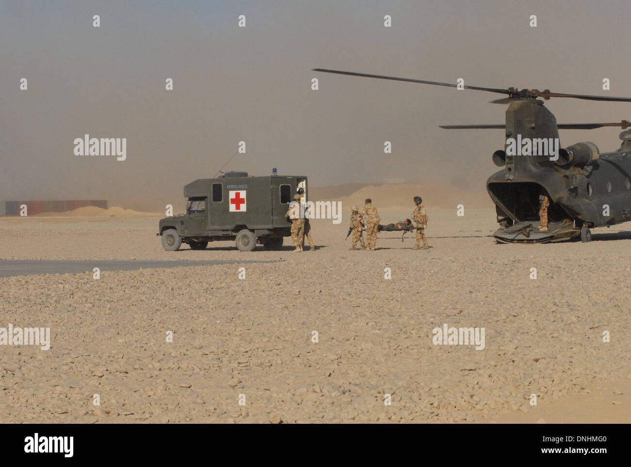 British army fighting the Taliban in Helmand Province Afghanistan 2006 3 para from 14 air assault brigade. - Stock Image