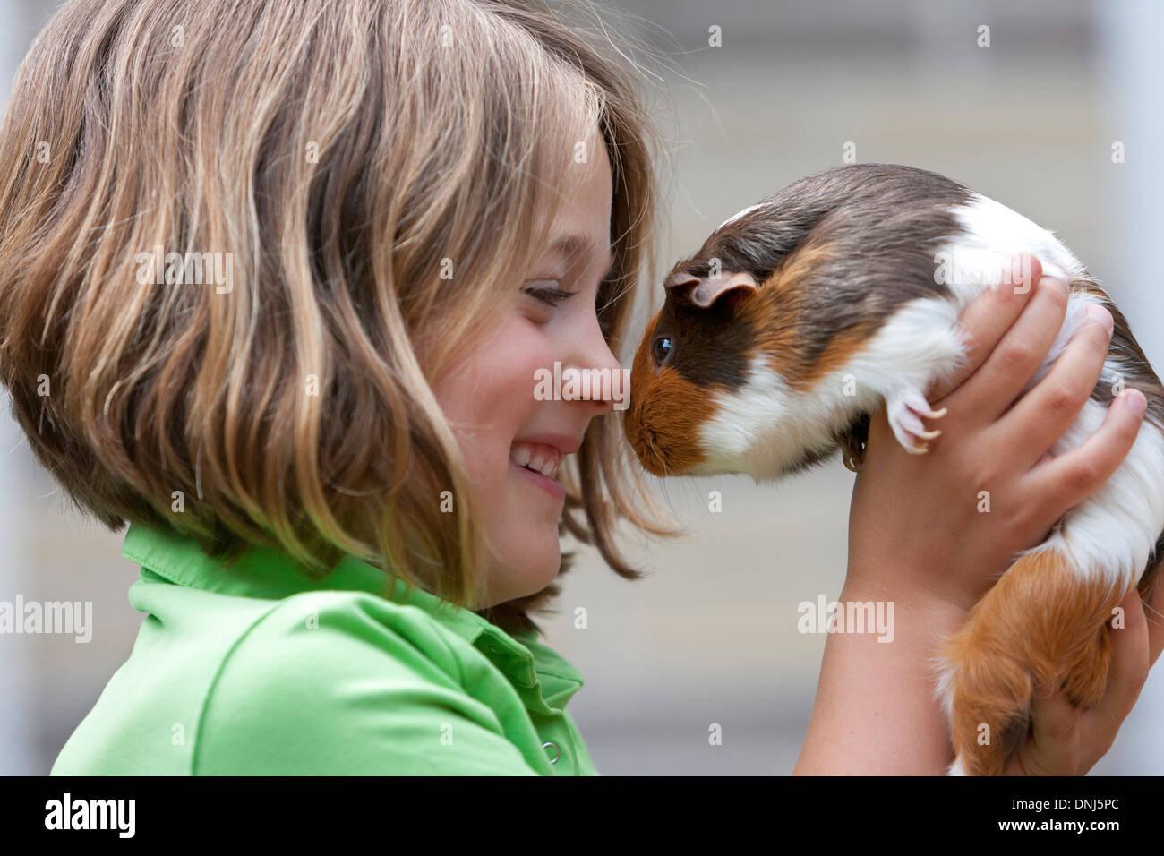 Girl Kiss Pig