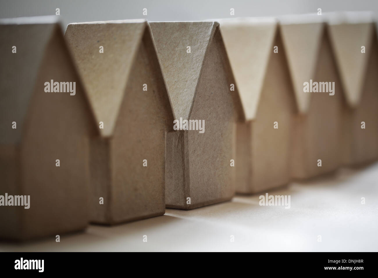 Real estate market - Stock Image