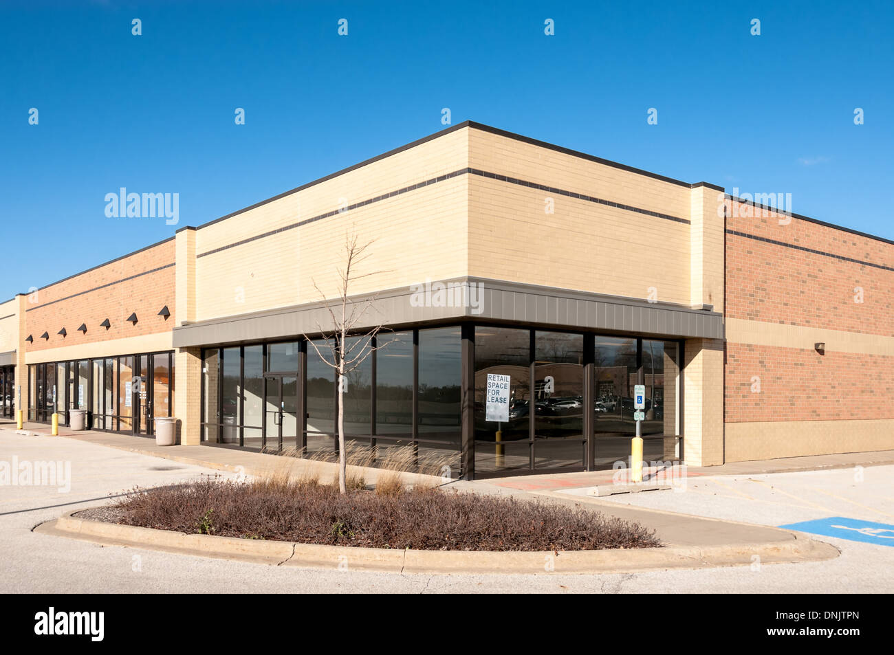 Commercial Retail And Business Park Stock Photos