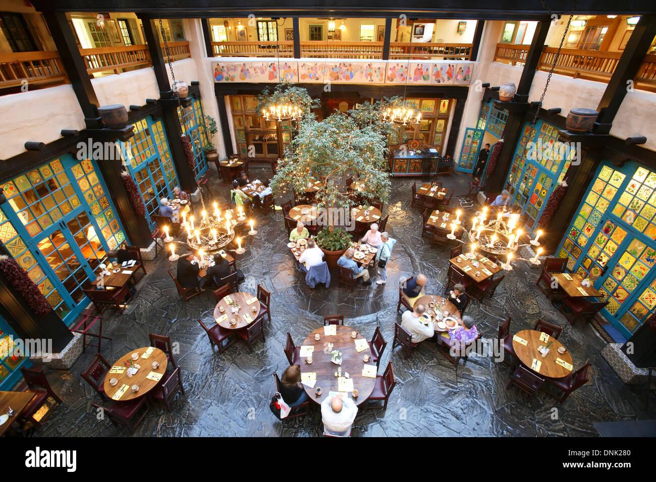 La fonda restaurant in santa fe