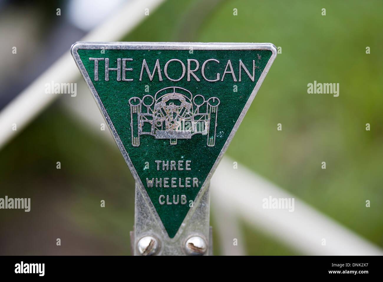 The Morgan Three Wheeler Club - Stock Image