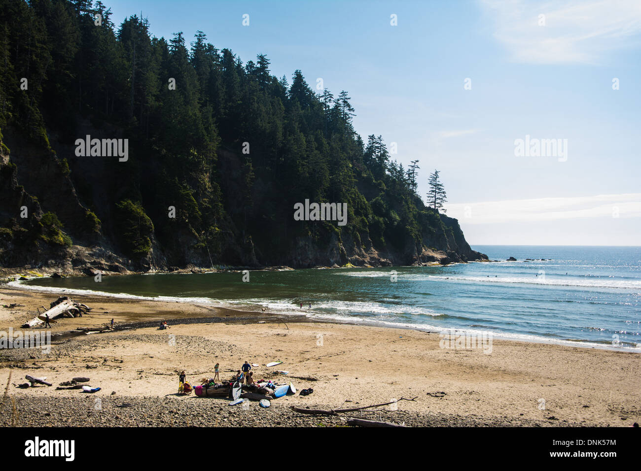 Short Sands State Beach, Oregon, USA - Stock Image
