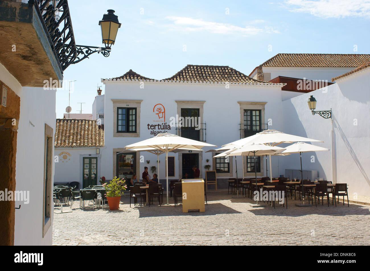 Faro Old Town Algarve Portugal - Stock Image