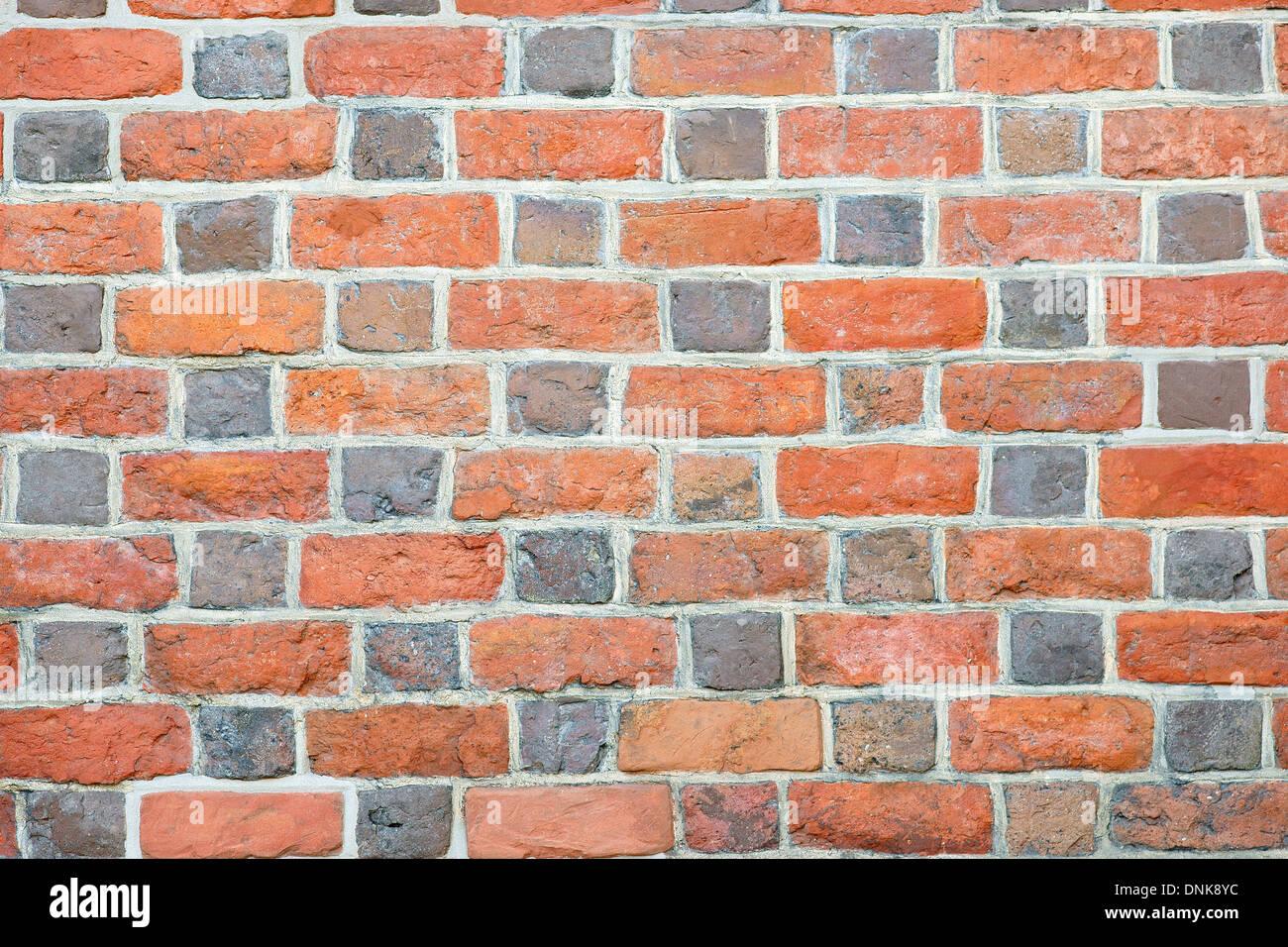 Gothic Brick Wall Stock Photo 64963008