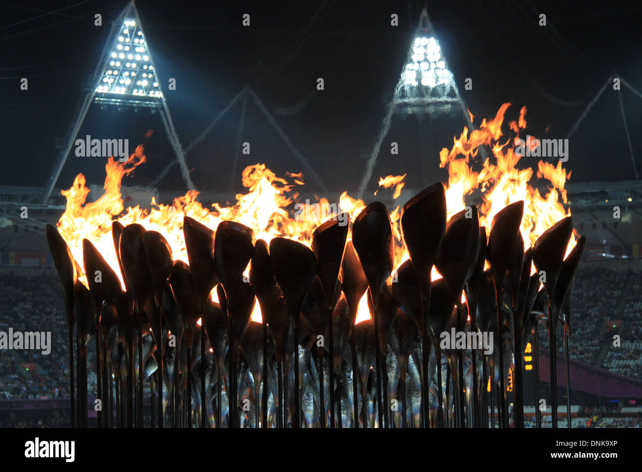 Olympic Flame 2012 - Stock Image