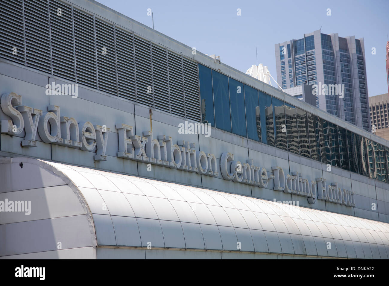 sydney's exhibition and conference centre in the city, at darling harbour. Due to be demolished in 2014 - Stock Image