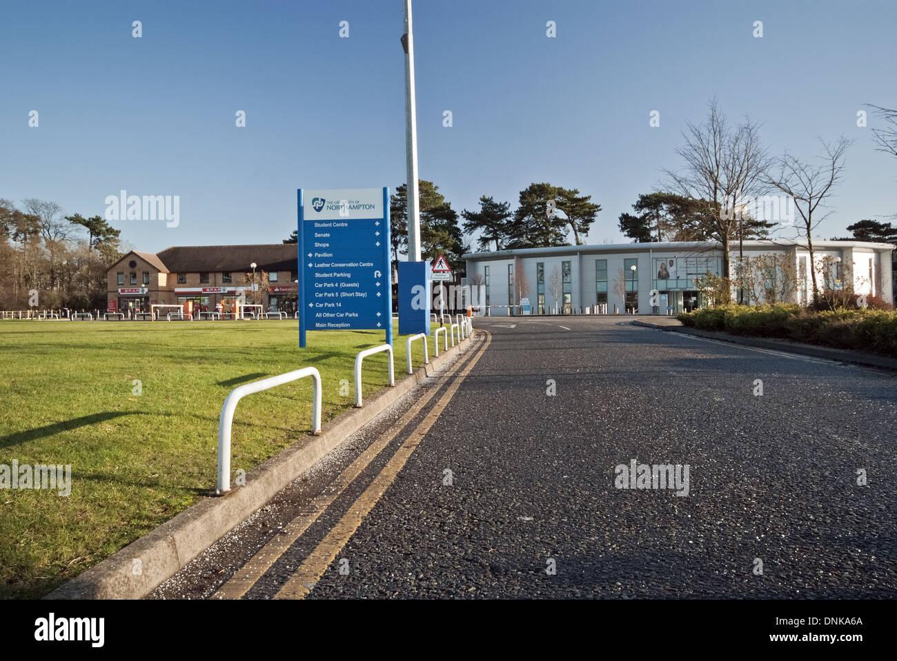 University campus Northampton - Stock Image