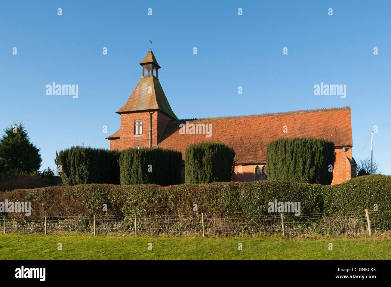 St. Edmund's Anglican Church, Thurlaston, West Leicestershire, England, UK - Stock Image
