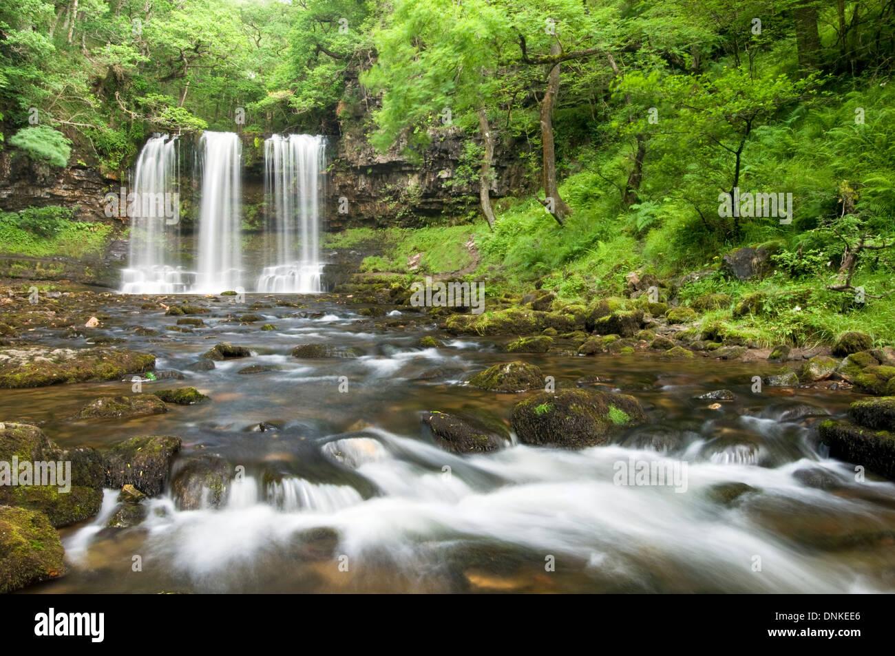 Sgwd Yr Eira, Brecon Beacons National Park Stock Photo
