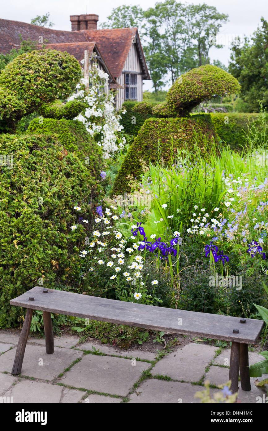 Great Dixter garden, Sussex. Stock Photo