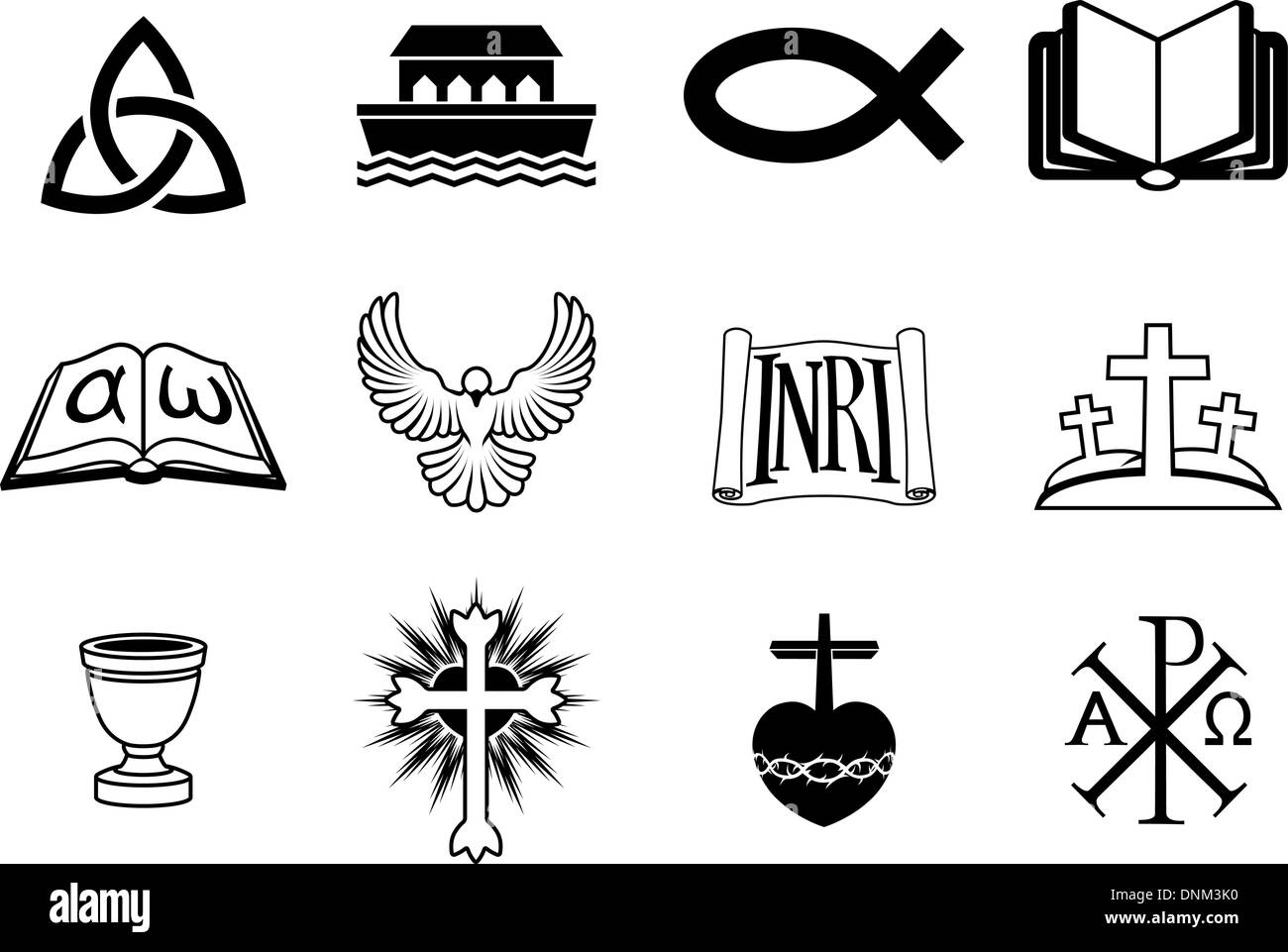 Christian Churches Stock Vector Images Alamy