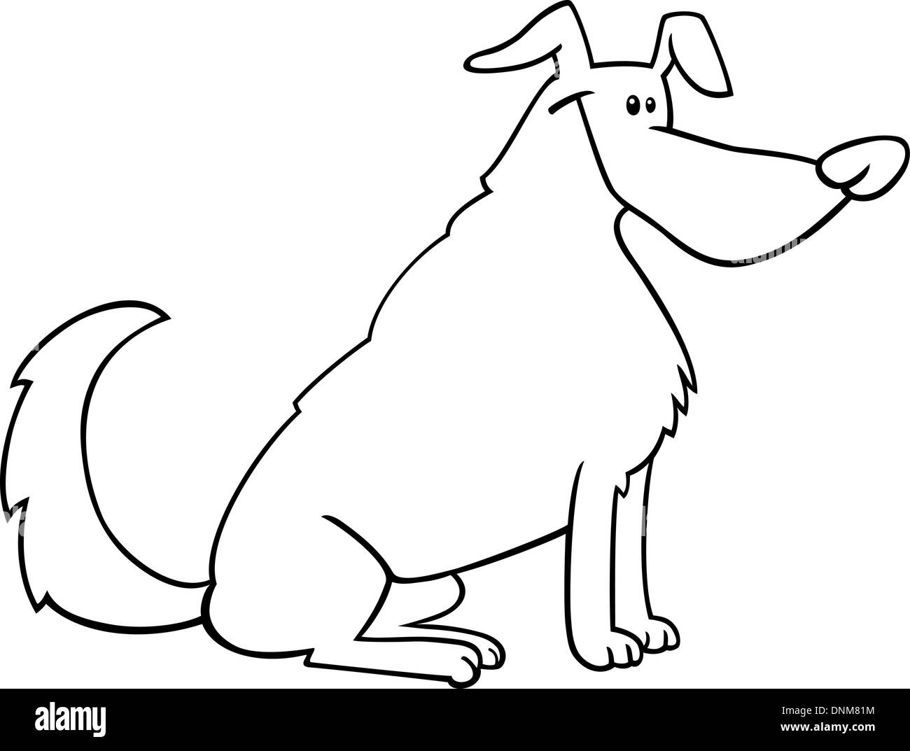 25+ Sit Cartoon Images Black And White PNG